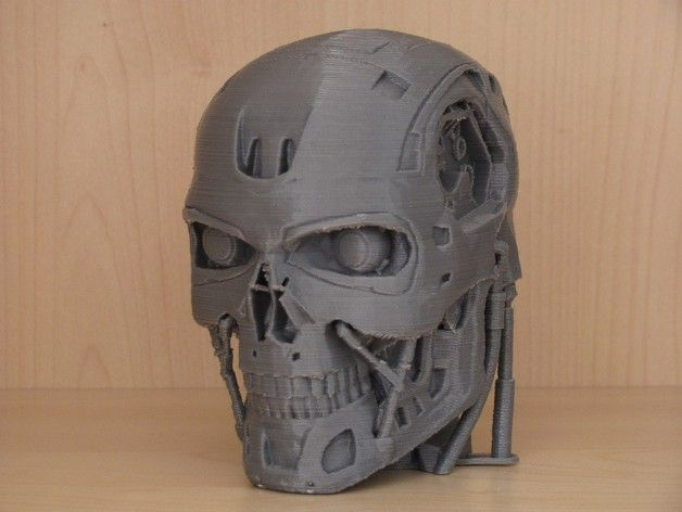 T-800 Redux (sliceable) – 3D Printer Model