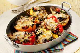 Are you a fan of stuffed peppers? Give our tasty recipe for Sausage, Spinach and Cheese Stuffed Peppers a try. Make it ahead for a fuss-free weeknight dinner!