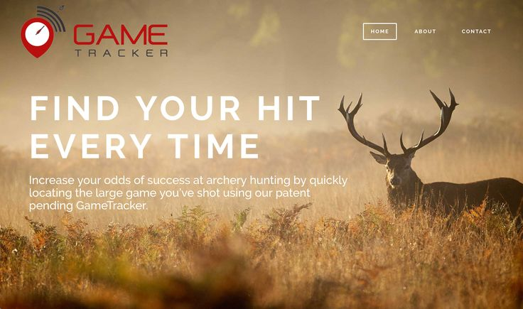 GameTracker, a new product launching soon. Clarke Inc. was proud to design their website with fast turnaround. View it here: www.trackmydeer.com