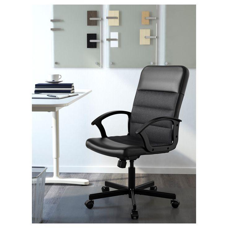 RENBERGET περιστρεφόμενη καρέκλα με ανάκλιση - IKEA
