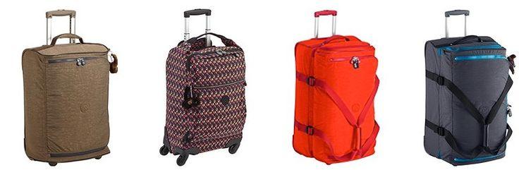 El día perfecto para comprar maletas de Kipling en oferta: una gran selección con hasta el 60% de descuento.