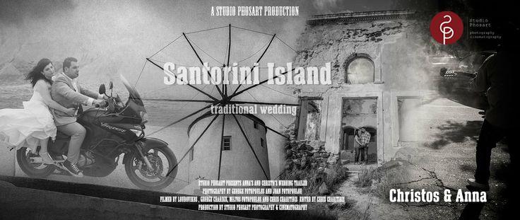 "Traditional wedding in Santorini Greece | Christos & Anna | Wedding Teaser. Wedding Teaser of Chris & Anna  Produced by :: ""Studio Phosart"" ..."