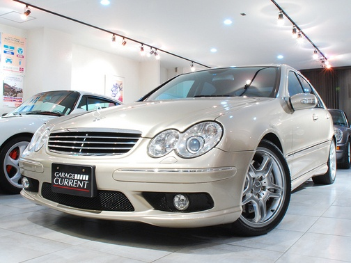 Mercedes Benz C55 AMG(W203) travertine beige