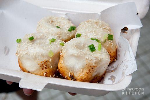 shen jian bao @ Yang's Fry Dumpling Shanghai