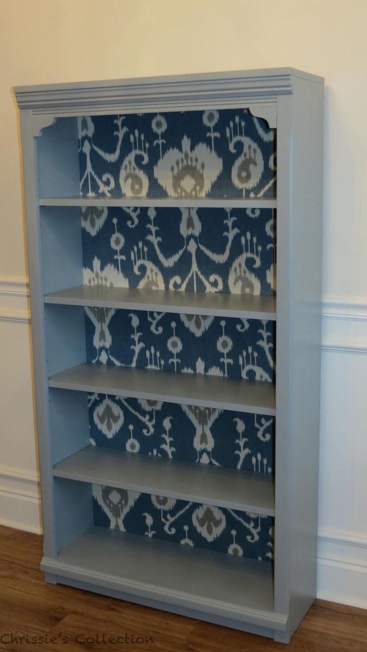 1000 Ideas About Painted Bookcases On Pinterest
