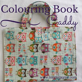 Cologuring Book Caddy