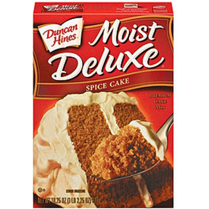 Duncan Hines Moist Deluxe Cake Mix Spice Cause It S