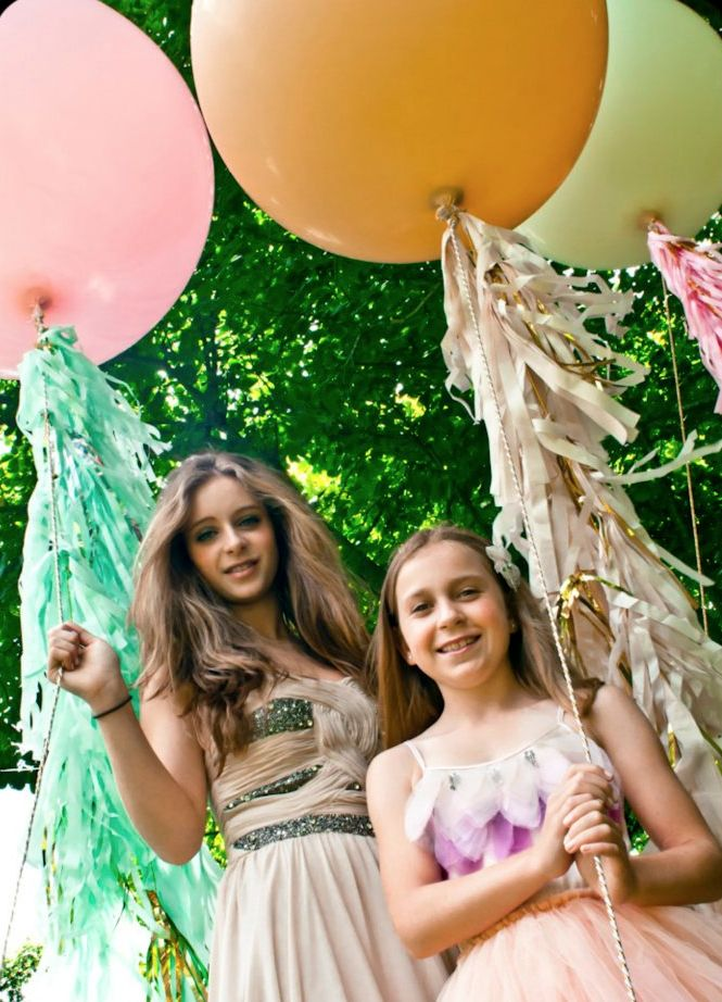 1000 Images About Balloons Amp Tassles Streamers And