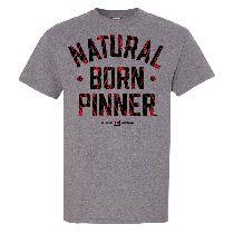 Natural Born Pinner Wrestling T-Shirt