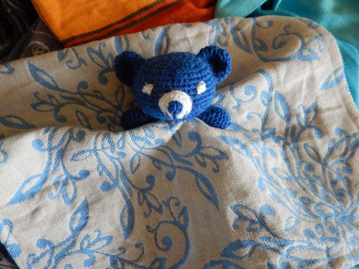 lovely little Teddy Sleepy Sling