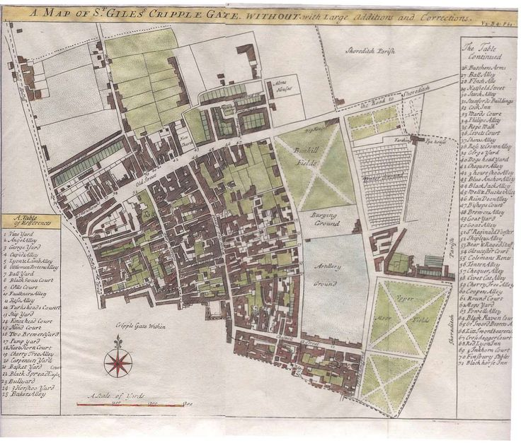 St. Giles Cripplegate Without,_1720