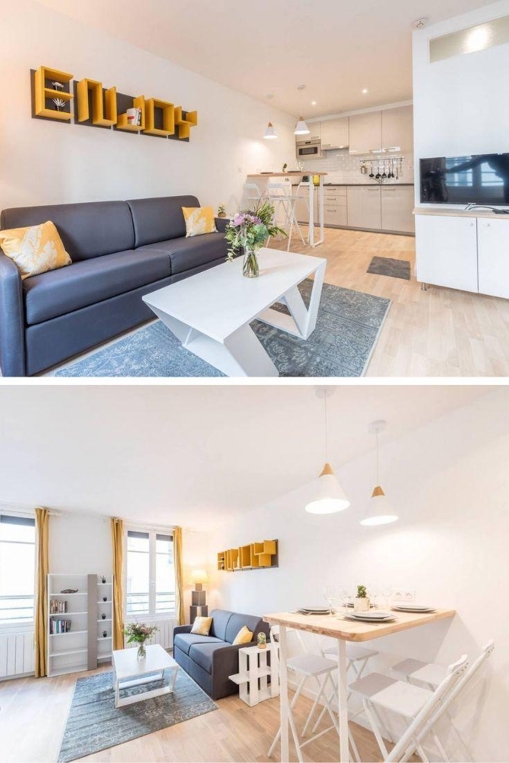 Bright Modern Studio Location Studio Chateau D Eau Appartement Meuble