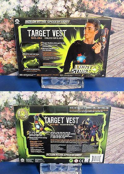 Laser Tag 168245: New Wowwee Light Strike Laser Tag Target Vest With Interactive Light And Sound -> BUY IT NOW ONLY: $32.22 on eBay!