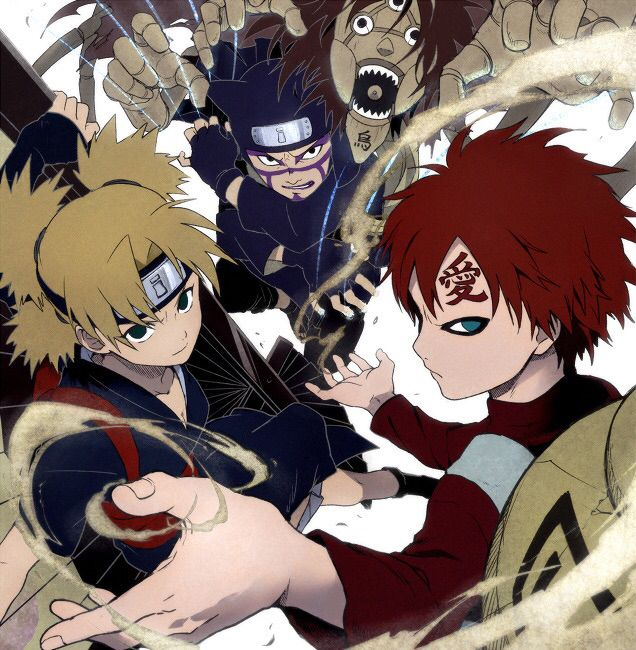 33 best The sand siblings images on Pinterest | Sands ... Gaara And Kankuro Brothers