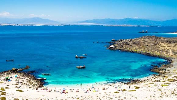 Isla dama-Chile the most beautiful beach I've seen