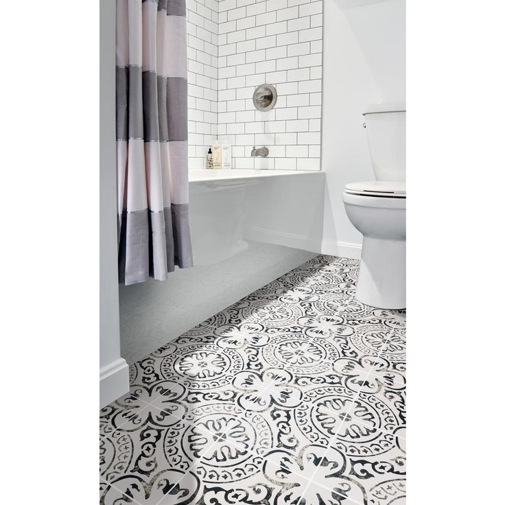 Msi Paloma Encaustic 8 In X 8 In Glazed Porcelain Floor