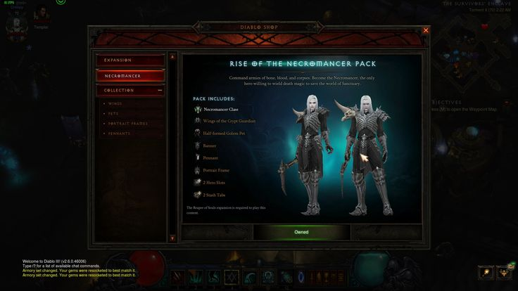 Review Necromancer – noua clasă introdusă în Diablo III: Reaper of Souls