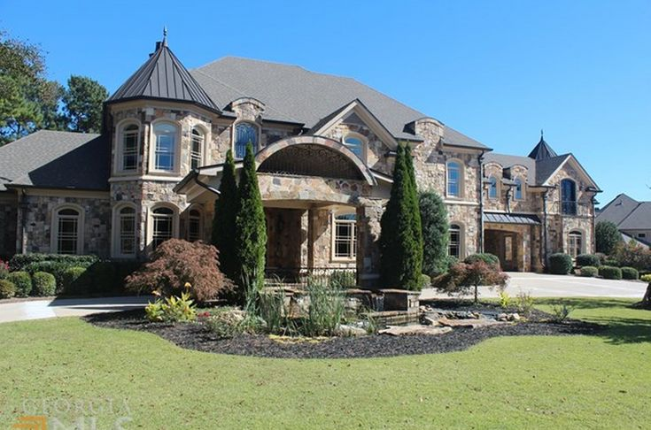 15 000 Square Foot Stone Mansion In Braselton Ga Homes