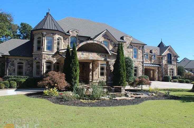 15 000 Square Foot Stone Mansion In Braselton Ga Homes