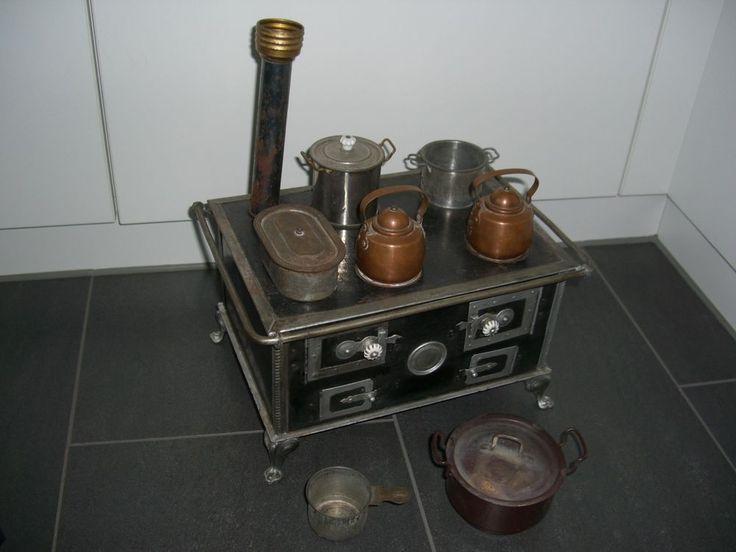 1234 best Fornuisjes  keukentjes images on Pinterest Doll houses - küchenherd mit wasserschiff
