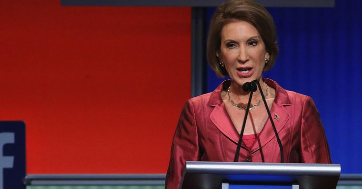 Carly Fiorina Demolishes Competition in First GOP Debate.....I'M STARTING TO PAY ATTENTION TO HER PEOPLE...I LIKE HER A LOT....MAKES A LOT OF COMMON SENCE....AND NEVER STUTTERS..I LIKE HER