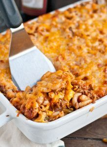 You can't go wrong with cheese, noodles, and ground beef in this Johnny Marzetti recipe!