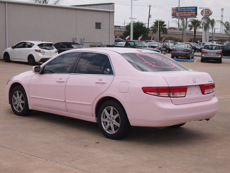 2004 Pink Honda Accord 3.0 EX w/Leather/XM Pink truck