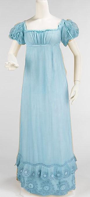 A blue dress for Leah