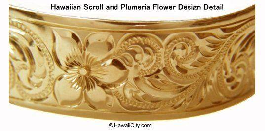 bracelets and necklaces made in hawaii   Hawaiian Heirloom Jewelry Bangle Bracelets Custom Made from Hawaii