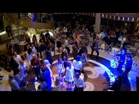 nice Beatles Band Performing on Regal Princess Caribbean Cruise