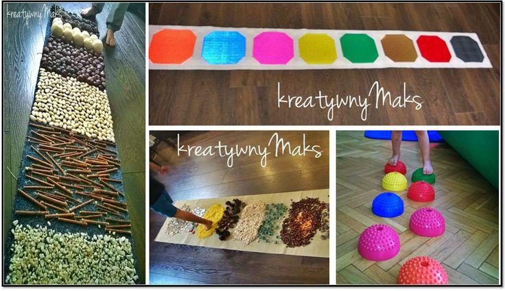 Różnego rodzaju faktury i materiały, naturalne surowce, produkty codziennego użytku, odrobina wyobraźni i mamy gotowy przepis na domową ścieżkę sensoryczną. Fantastyczny sposób na stymulację dotykową, ćwiczenie zmysłu równowagi oraz dużej motoryki, a przy okazji świetna zabawa dla dzieci (i dorosłych) w każdym wieku. Kreatywny Maks proponuje namkilkanaście różnych sposobów na wykonanie sensorycznego toru, który nie…