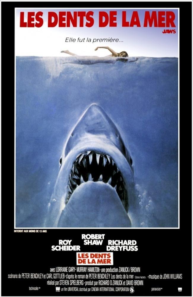 Les dents de la mer. La saga qui m'a le plus marqué. Enfant j'étais un grand fan, maintenant je ne peux plus me baigner en mer ;o(