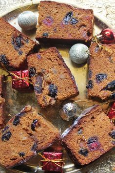 Indian rum fruit cake. It came out moist and delicious, lasted for over a week. This recipe made two round cake pans worth, next time I will use loaf pans.