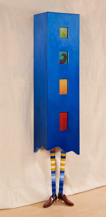 """Simon Reno"" Whimsical Cabinet by Meg Romero Studio"