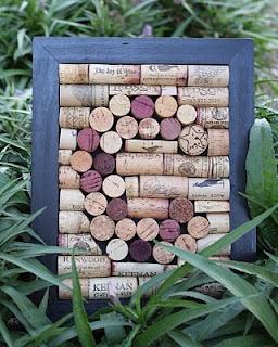 Monogram Cork Board