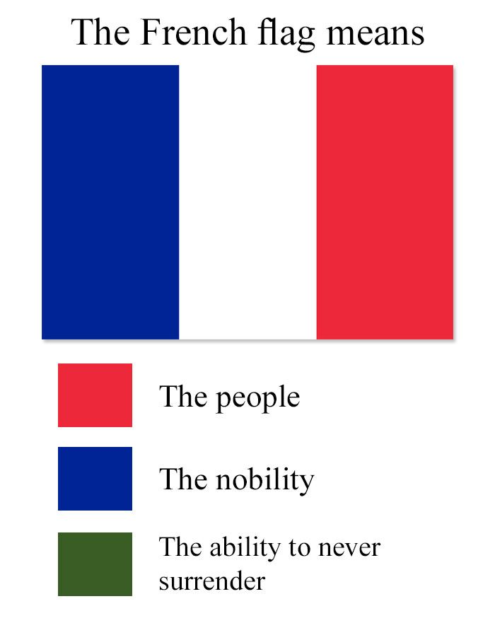 Hilarious Meanings Of Flag Colors Of Different Countries Historical Memes Mean Humor History Jokes