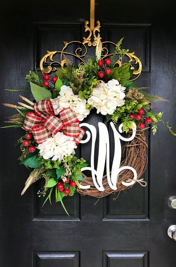 NEW Christmas Wreaths for Front Door Front