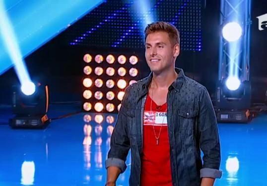 Claudiu Nerghes, zambet de vedeta si voce de X Factor! #auditii