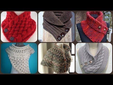 Neck Warmer Knit Pattern Free