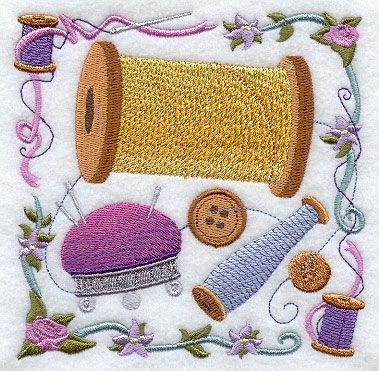 Machine Embroidery Designs at Embroidery Library! - Color Change - E8418 2/23/2011