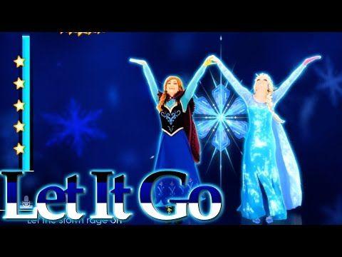 ▶ Just Dance 2015 | Disney's Frozen - Let It Go  Gameplay 5 Stars ★ - YouTube