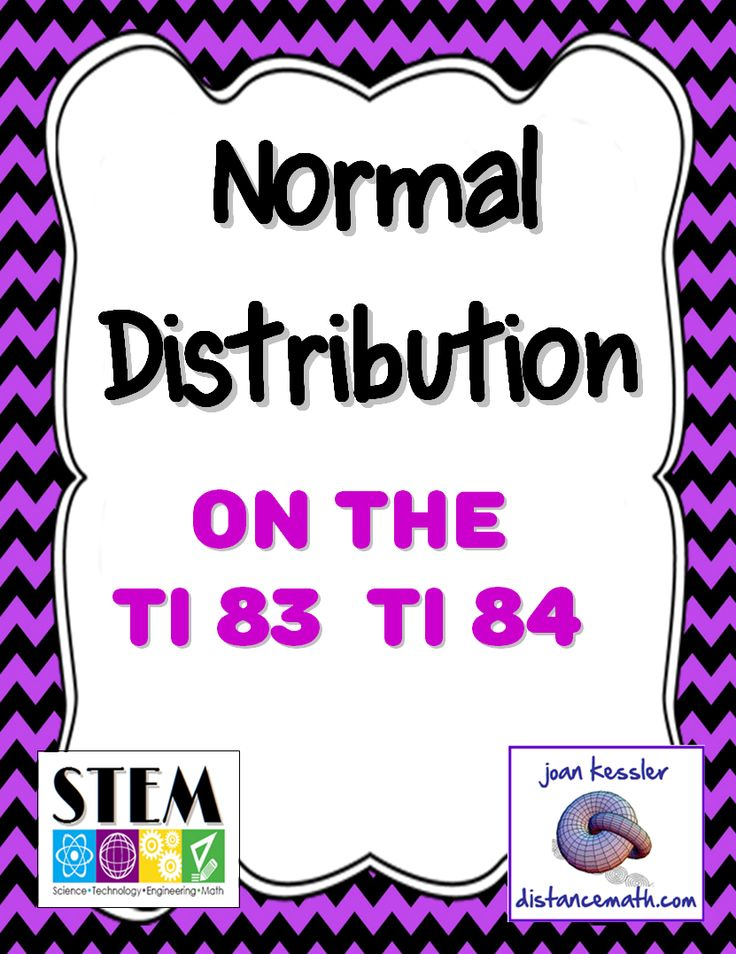 normal distribution on ti 83 and ti 84 handout worksheets activities student and the o 39 jays. Black Bedroom Furniture Sets. Home Design Ideas