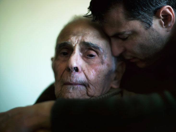 So beautiful. ---------- Mr Toledano : Days with my father. ------ Click on this to read a beautiful story of a son's love for his elderly father.