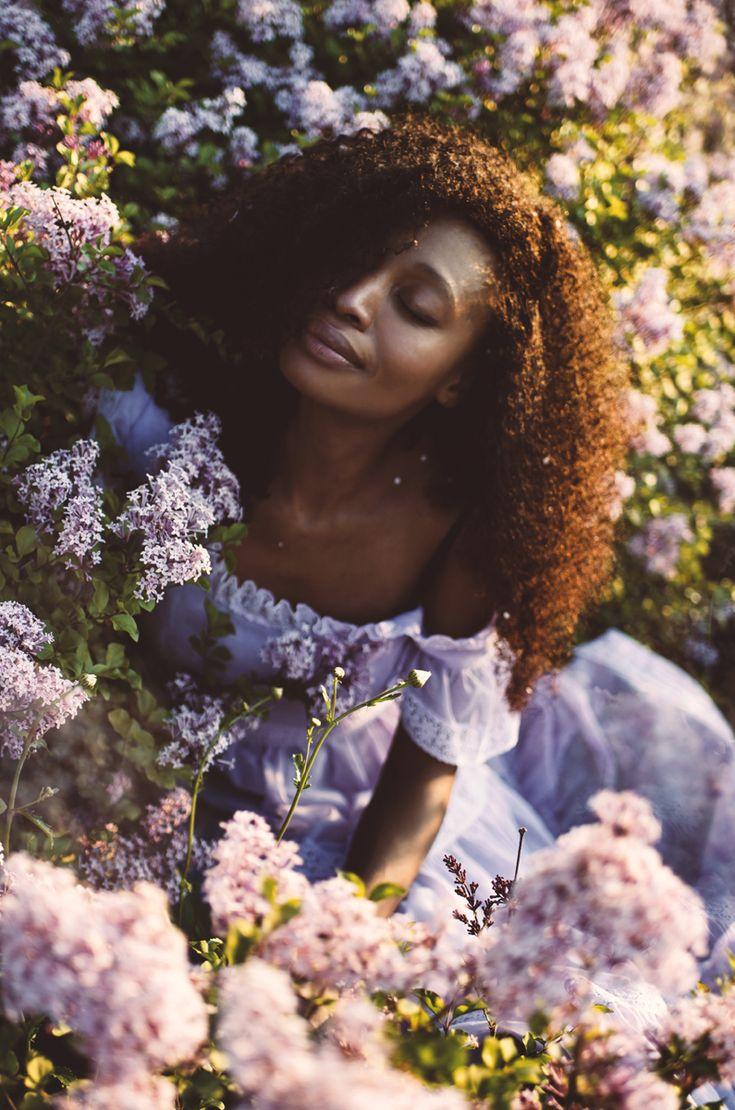 """Couleur Lilas"" — Photographer: Mila Photographie... - Dark Beauty"