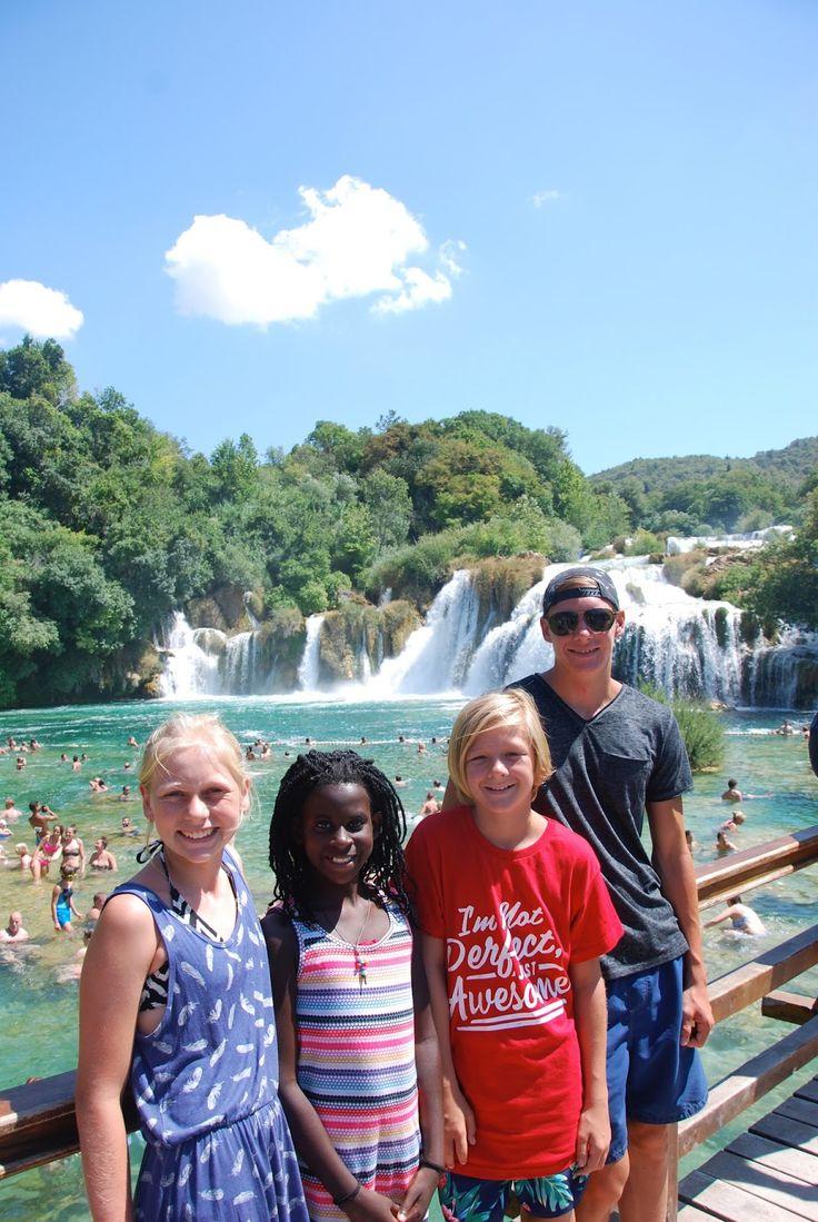 Krka National Park Waterfalls Croatia with kids