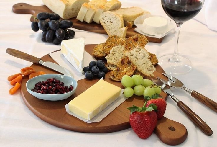 Acacia Wood Round Board perfect for cheese boards or pizza boards