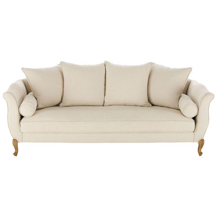 3 seater cotton sofa bench Louise