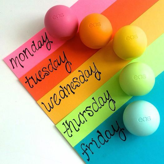 Delightful and delicious every day of the week #eos