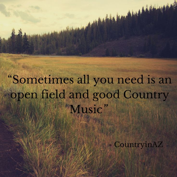 Country Music Quote