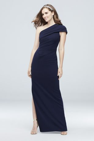 3307678953fa9 DB Studio, exclusively at David's Bridal Polyester, spandex Side zipper;  fully lined Dry clean China